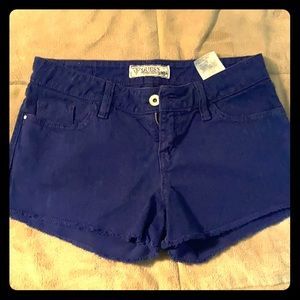 Blue jean guess shorts